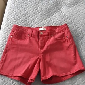 Jessica Simpson brand's forever roll cuff short